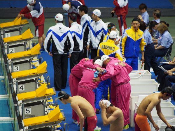 東京 都 水泳 大会